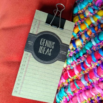 Genius ideas hanging clip  notepad